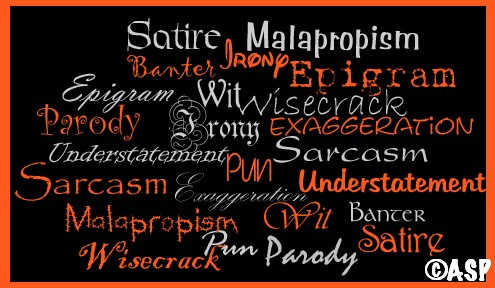wit wisdom words poster