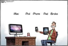 iMac iPod iPhone iPad iBroke