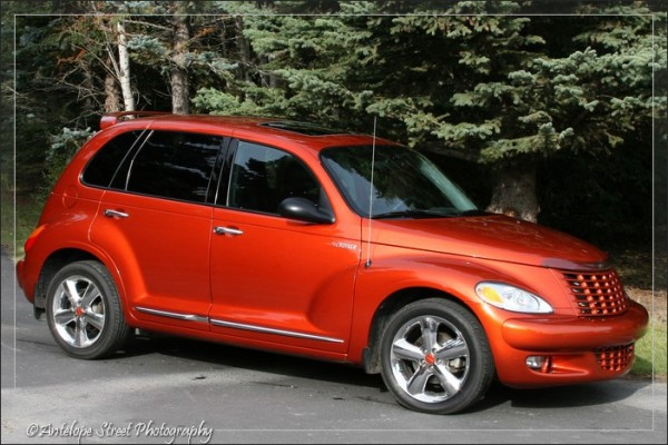Tangerine PT Cruiser Limited Edition