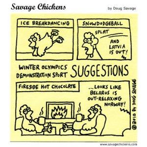 Winter Olympics Demonstration Sport Suggestions
