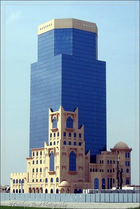 Qatar blue