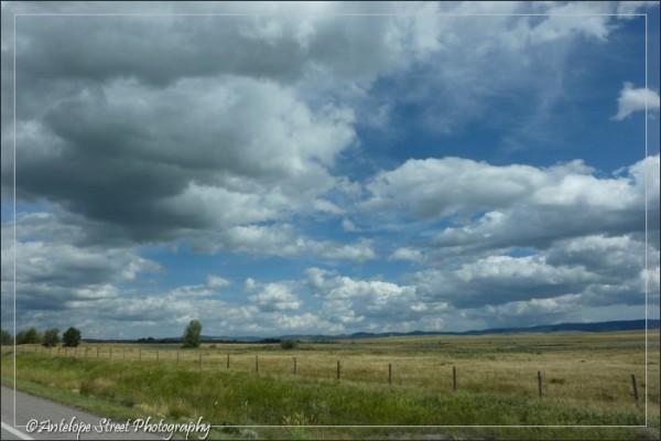 Alberta prairie clouds