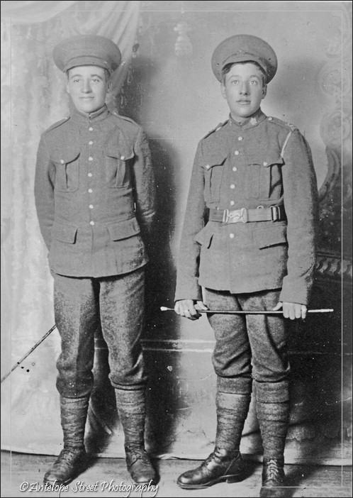 252-Victor and Henry WWI