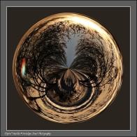 Sunrise ghost marble